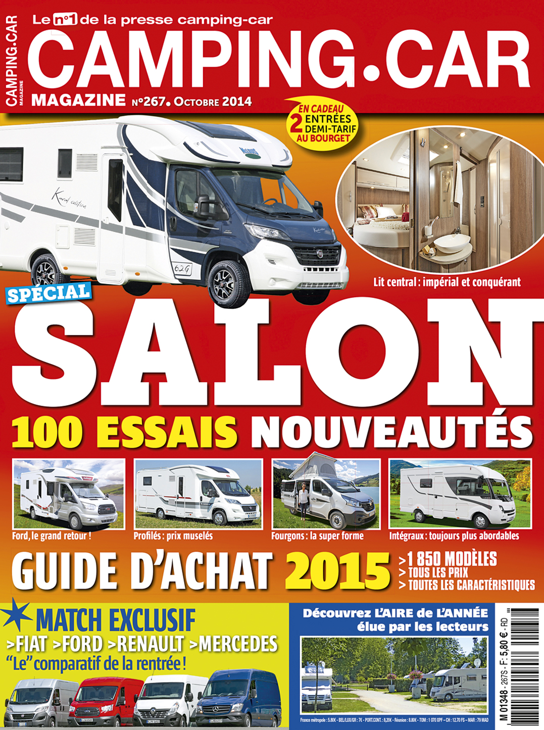 camping car magazine espace presse. Black Bedroom Furniture Sets. Home Design Ideas